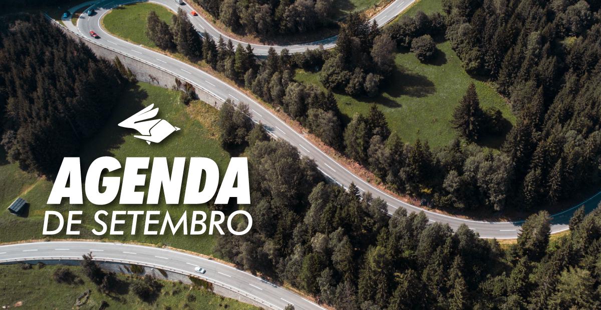 agenda setembro eventos motociclistas encontros